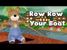 Row Row Row Your Boat Teddy Bear Cartoon Nursery Rhyme | 3D Cartoon Rhymes for Children - YouTube http://www.youtube.com/watch?v=orzJZQCCIFw