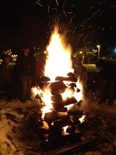 Bonfires @ Villa Roma
