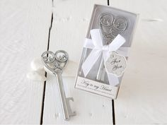 Wedding Cards, Wedding Favors, Key To My Heart, Place Card Holders, Shape, Gourmet, Valentines Day Weddings, Key Bottle Opener, Wedding Ecards