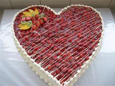 Erdbeer Herz