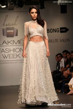 Lengha by Koecsh Vik By Kresha Bajaj Show at Lakme Fashion Week Summer/Resort 2014