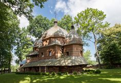 Chotyniec. Drewniana cerkiew greckokatolicka z 1615 roku. / Chotyniec. Wooden Greek Catholic Tserkva from 1615.   #Podkarpackie #Poland #UNESCO #WorldHeritageList