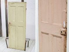 イギリス英国アンティークドアペイント古い扉建具9168 インテリア 雑貨 家具 Antique door ¥80000yen 〆04月28日 Armoire, Tall Cabinet Storage, Doors, London, Antiques, Furniture, Home Decor, Clothes Stand, Antiquities