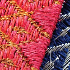 Wake up wild with our hot pink copper weaves and navy sterling hues.  #VerdiWeaves    #VerdiDesign #WeavingIntoNature #Metal #NaturalFiber #Rugs #Copper #Handmade #MadeInColombia #Handcrafted #Metallic #Carpet #Textiles #Weaves #Bespoke #BespokeRug #Design #Interior #InteriorDesign #Art #Architecture #InteriorArchitecture