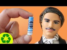 DIY Miniature Shaving Cream Can - Easy Doll Crafts - YouTube