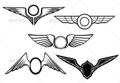 Wing Freedom Symbol » Tinkytyler.org - Stock Photos & Graphics