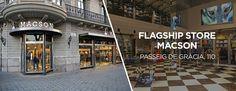 Macson Stores | Inauguramos flagship store en el Paseo de Gracia, 110, de Barcelona. 320 m2 distribuidos en dos plantas con las últimas novedades Macson. #macsonpgracia