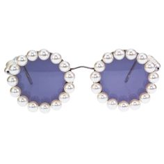 1stdibs - CHANEL PEARL ROUND SUNGLASSES explore items from 1,700  global dealers at 1stdibs.com