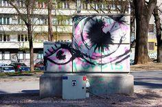 Oči / Mali Tašmajdan #BeogradskiGrafiti #StreetArt #Graffiti #Beograd #Belgrade #Grafiti