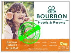 Geovana Padalino para Hotéis Bourbon