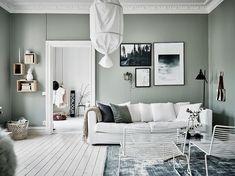 Mint & Brick Walls. Interior Decoration Trends 2017