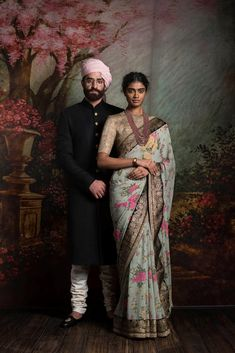 What does that beautiful Sabyasachi Saree Cost? I know I have which is why every time Sabyasachi launches a new collection, I start hunting for Sabyasachi Saree Cost in a frenzy. Saris, Floral Print Sarees, Printed Sarees, Saree Floral, Sabyasachi Sarees, Indian Sarees, Indian Wedding Outfits, Indian Outfits, Indian Clothes