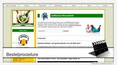 Bestelprocedure in beeld - Leefbewust.com