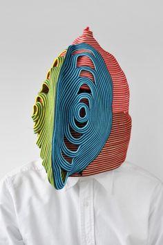 Masks by Bertjan Pot