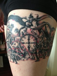 The Black Parade tattoo...this. is. amazing. Just beautiful.