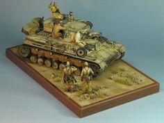 Photo 1 - Pz.IV Ausf.E in Africa | Dioramas and Vignettes | Gallery on Diorama.ru