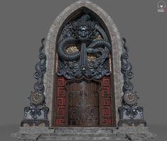 ArtStation - Dragone Gate, Chae Sung Lim
