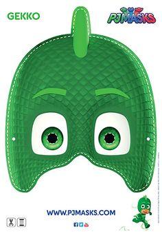 PJ Masks Gecko Mask | Printable | Bub Hub