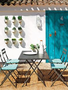 Ideas, detalles y deco para inspirarte. Patio Interior, Home Interior, Interior And Exterior, Exterior Signage, Outdoor Rooms, Outdoor Dining, Outdoor Decor, Outdoor Cafe, Dining Area