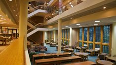 Learn more about the Jerome Hall Law Library, ranked as one of the best law libraries in the nation. Indiana University, Atrium, Mansions, House Styles, Google Search, Home Decor, Decoration Home, Manor Houses, Room Decor