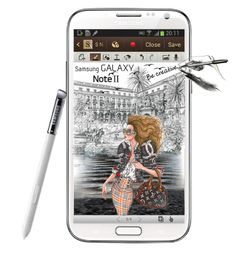 """""""Be creative with Samsung GALAXY Note II"""" by anapuzar ❤ liked on Polyvore featuring art"""