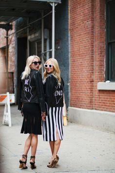 new york fashion week street style celebrity trend trends fashion shea marie caroline vreeland | Peace Love Shea