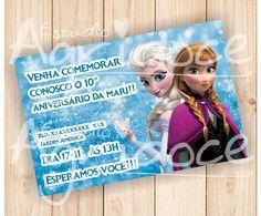 Convite Virtual Frozen                                                                                                                                                                                 Mais