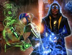 Static Shock by Mystic-Oracle on DeviantArt  I do not own this image; check out the artist's site.