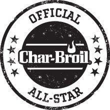 Char-Broil Badge. Smokin butt tips. @Jonathan Hughes