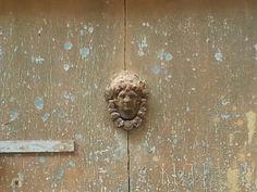 #door #knocker #ancient #history #Puglia #Italy