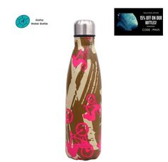 FREE SHIPPING. ENTER THE FAMOUS UNIVERSE OF THE TOUR DE FRANCE WITH THIS WONDERFUL STAINLESS STEEL WATER BOTTLE BIKER! ENJOY EACH OF YOUR DELICIOUS DRINKS, HOT OR COLD. Capacity: 17oz Insulated water bottles made with safe and environmentally friendly stainless steel. Both your tea and your coffee will stay warm for 12 hours regardless of the temperature. Even in the desert, your drinks will stay cool for 24 hours. #insulatedbottle #stainlesssteelwaterbottle #metalbottle Insulated Water Bottle, Stainless Steel Water Bottle, Yummy Drinks, Stay Warm, Biker, Water Bottles, Pattern, Universe, France