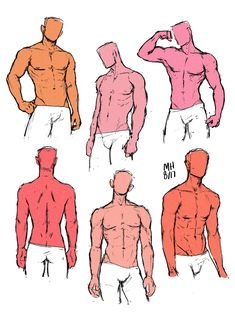 practicing drawing boys cause boys are 2 hard to draw.heres a buncha faceless floating bodies…i guess. Male Pose Reference, Body Reference Drawing, Guy Drawing, Drawing Reference Poses, Drawing Body Poses, Drawing People, Body Base Drawing, Drawing Practice, Drawing Tips