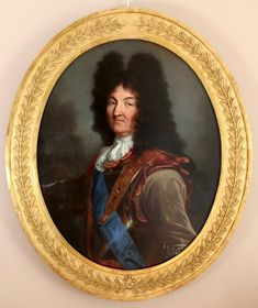 Hyacinthe Rigaud (1659-1743) And Workshop- Portrait Of Louis XIV (1694 Version) - Portrait Famous Portraits, Italian Paintings, Hall Of Mirrors, Old Frames, Louis Xiv, Rome Travel, French Art, Versailles, Art Decor