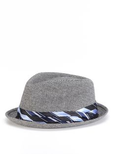 17eb0f29560 Gingham Fedora by Block Headwear Spring Hats