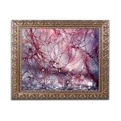 Trademark Fine Art Beata Czyzowska Young Beautiful Chaos Framed Wall Art - BC0254-G1114F