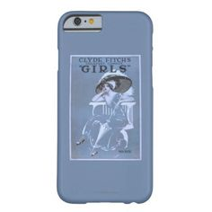"""Clyde Fitch's Greatest Comedy, """"Girls"""" #theatre Barely There iPhone 6 Case http://www.zazzle.com/clyde_fitchs_greatest_comedy_girls_#theatre_barely_there_iphone_6_case-179751597562379192?rf=238945240558277583   #zazzle www.dramaticallycorrect.com"""