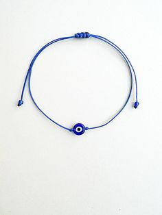 Blue,Evil eye bracelet,String bracelet,Made in Greece,Devil's eye…