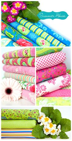 Fabric - Summer House Collection by Lily Ashbury - Moda Fabrics
