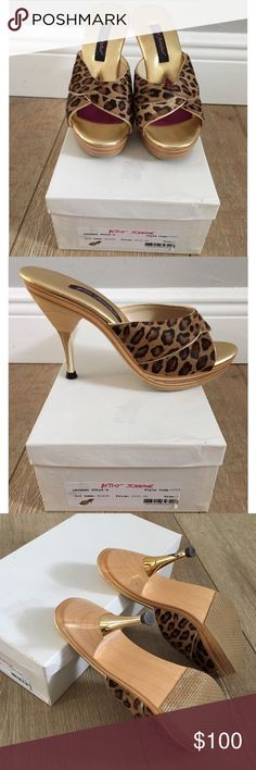 ✨Brand New✨ Betsey Johnson leopard polly's ⚡️Polly's Come New in original box⚡️ Betsey Johnson Shoes Heels