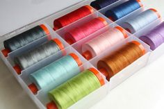 "Amy Udall Smart from Diary of a Quilter has some great suggestions for finding the perfect gift(s) for the quilter or sewist in your life!  ""I love to sew with a cone of thread (my favorite is Aurifil 50wt cones in any neutral color) because they last forever and are economical in the long run.""  View the full list by visiting  http://www.diaryofaquilter.com/2015/11/gifts-for-quilters-2015.html"