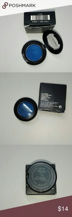 MAC~ in the Shadows Authentic as usual MAC eye shadow single color into the Shadows.  BNIB never used. Price is Firm, No Trades. Thank you MAC Cosmetics Makeup Eyeshadow
