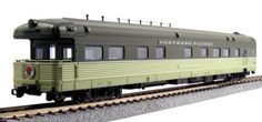 Passenger Cars 81018: Kato Usa Model Train Northern Pacific Yellowstone Bud Business Car, New -> BUY IT NOW ONLY: $146 on eBay!