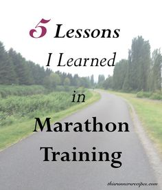 Proper fueling, the difference non-running footwear makes, and active recovery are among 5 things I learned in marathon training so far.