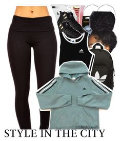 """""""01-07-2017."""" by trillestqueen ❤ liked on Polyvore featuring Barry M, Chanel, adidas Originals and adidas"""