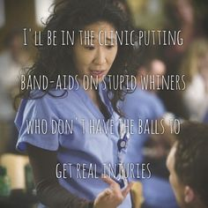 27 reasons why Cristina Yang is everything you aspire to be in life. I don't watch this show much anymore, but seriously, Christina Yang is my hero. Grey's Anatomy, Sandra Oh, Cristina Yang, Whatever Forever, Grey Anatomy Quotes, Grey Quotes, Dark And Twisty, Youre My Person, To Infinity And Beyond