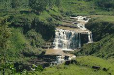 Les cascades de Nuwara Eriya, Sri Lanka