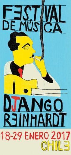 Festival Django Reinhardt | Pencil Ilustradores