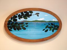 St. Thomas, acrylic on wood, private collection by Harmony Jones