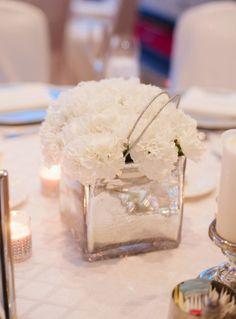 Downtown Annapolis Hotel Wedding Wedding Real Weddings Photos on WeddingWire Carnation Centerpieces, Flower Centerpieces, Carnations, Wedding Centerpieces, Wedding Decorations, Wedding Reception Flowers, Wedding Table, Floral Wedding, Wedding Day