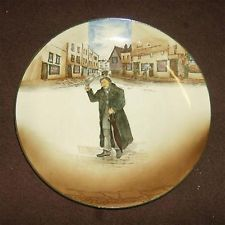 Vintage Royal Doulton Dickens Ware Mr Squeers plate